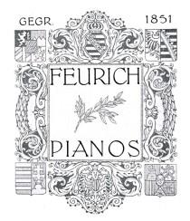 Lịch sử đàn piano Feurich