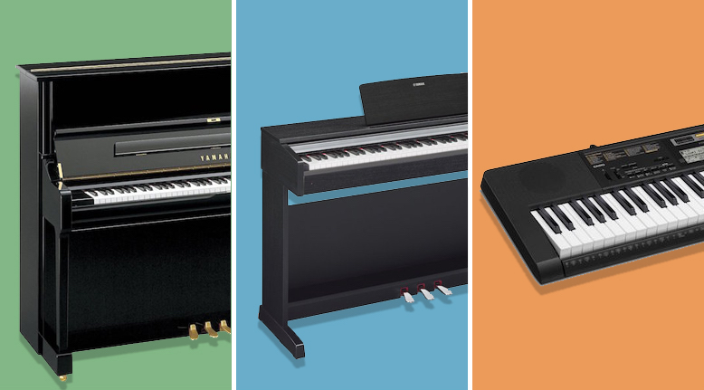Nên mua đàn piano điện hay cơ ?